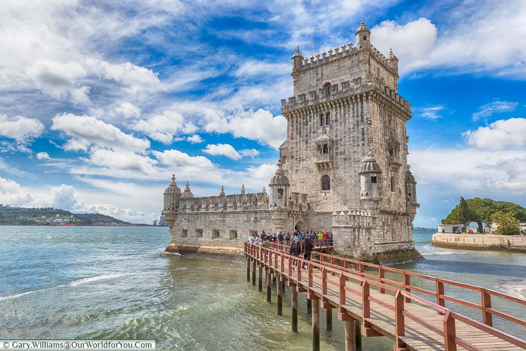 Belém Tower or Torre de Belém, Lisbon, Portugal