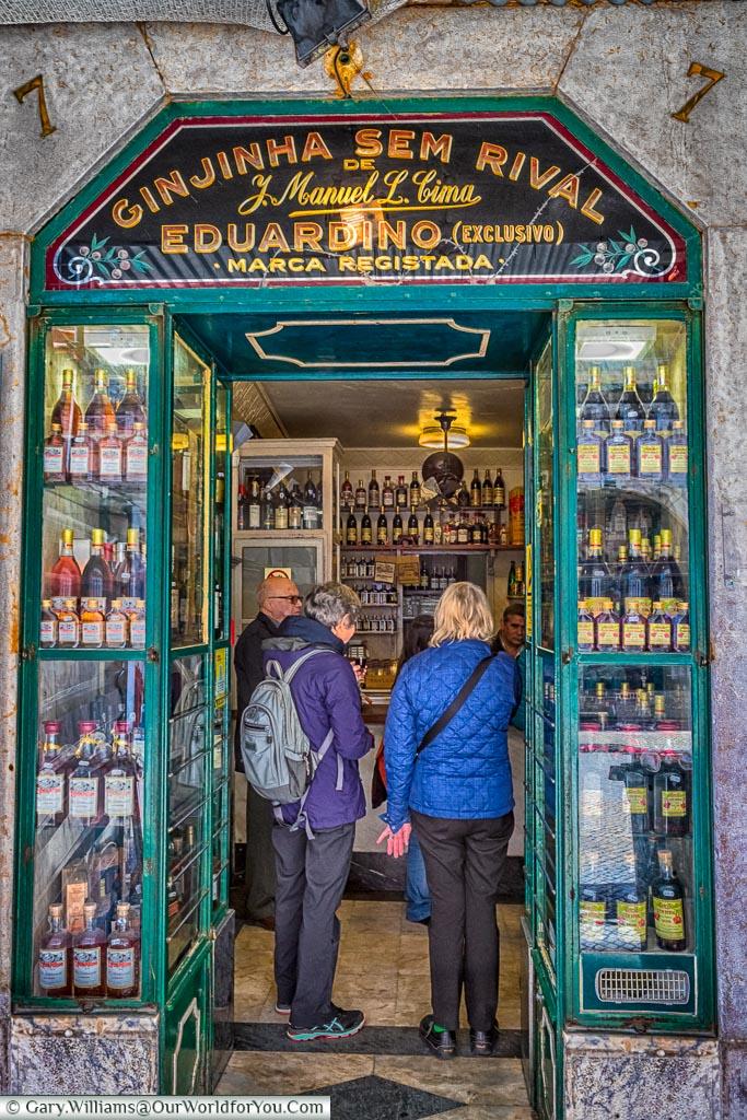 Ginjinha Sem Rival, Lisbon, Portugal