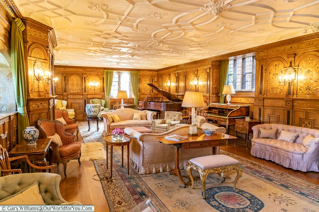 The Drawing Room, Hever Castle, Kent, England