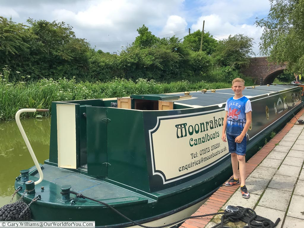 The adventure starts with Moonbeam, from Moonraker Canalboats, on the Kennet & Avon Canal, England, United Kingdom