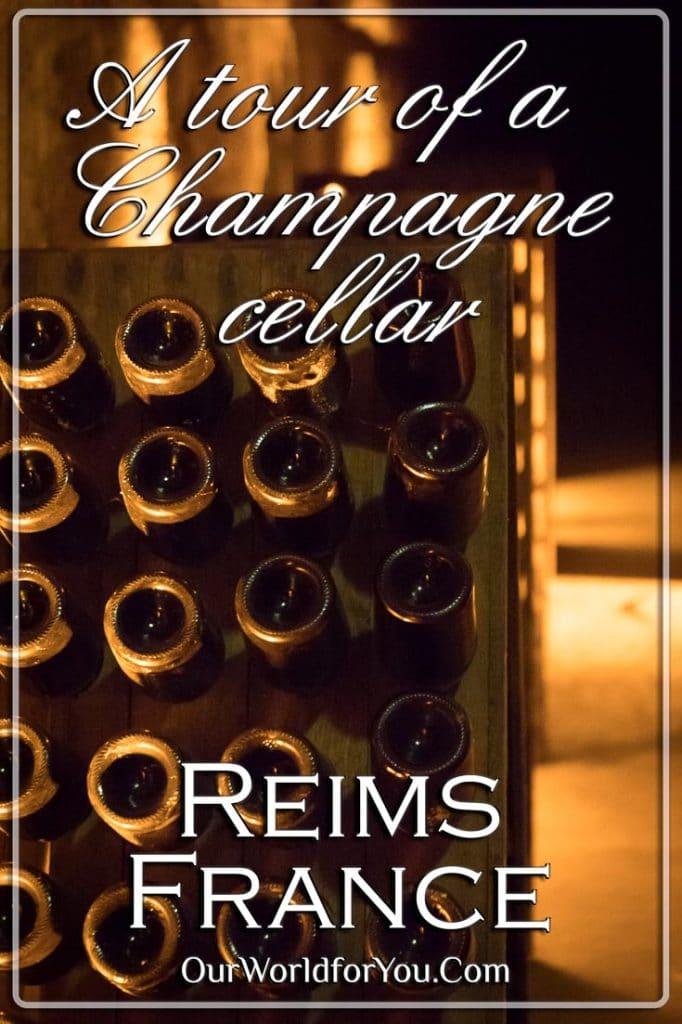 A tour of a Champagne cellar - Pinterest