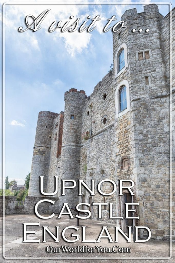 The front of Upnor Castle, Upnor, Kent, England, UK