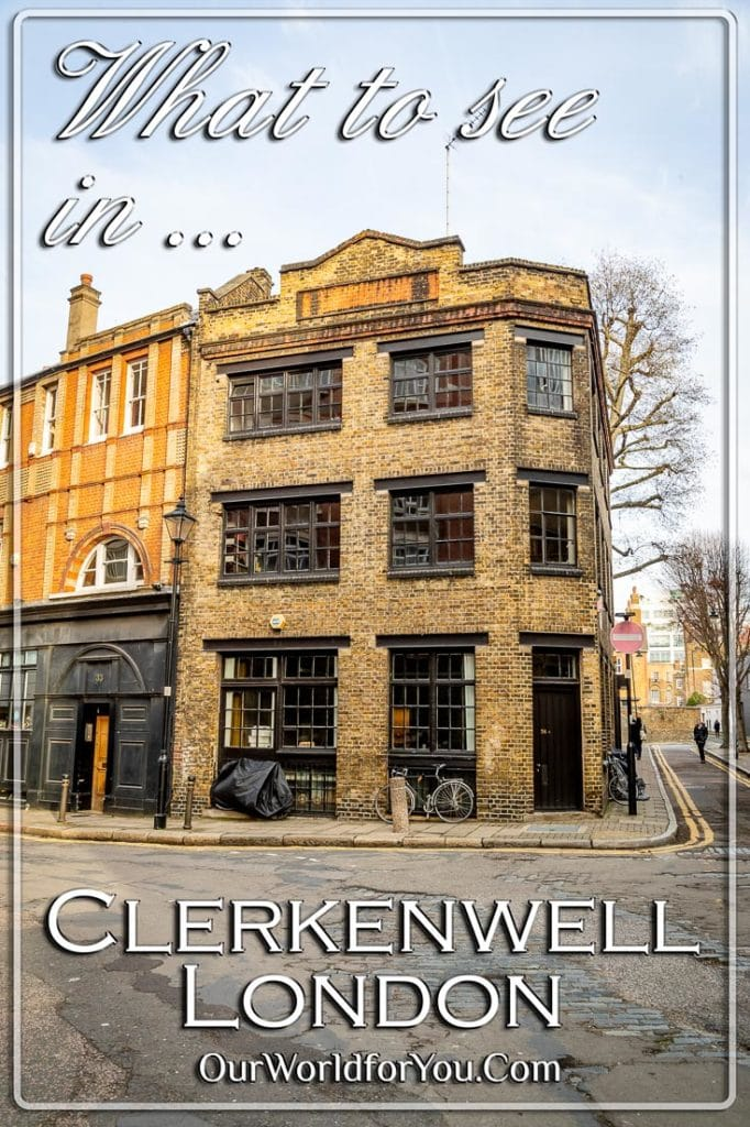 What to see in Clerkenwell, London, England