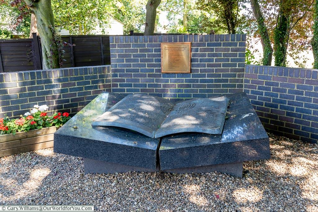 The Polish Memorial, Bletchley Park, Buckinghamshire, England, UK