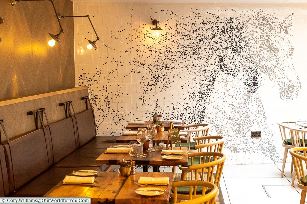 The White Horse in The Dozen Restaurant, The White Horse, bespoke hotels, Dorking, Surrey, England, UK