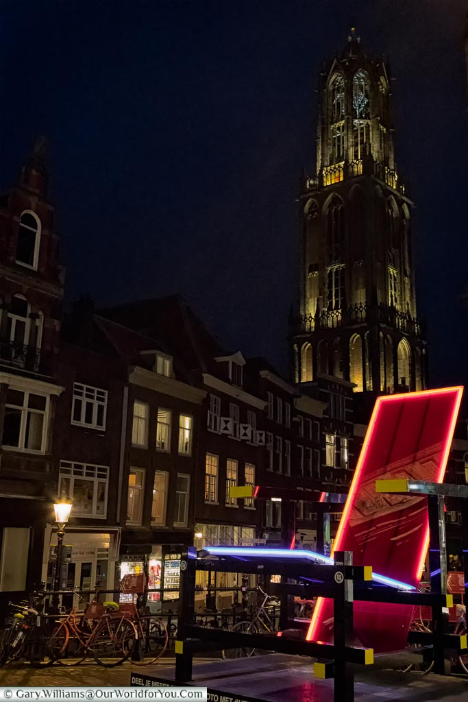 The famous Red and Blue Chair, Utrecht, Holland, Netherlands