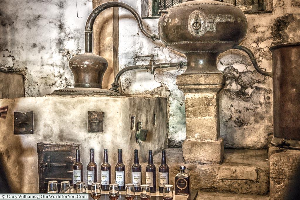 The selection in the distillery, Tio Pepe, Gonzalez Byass, Jerez, Spain