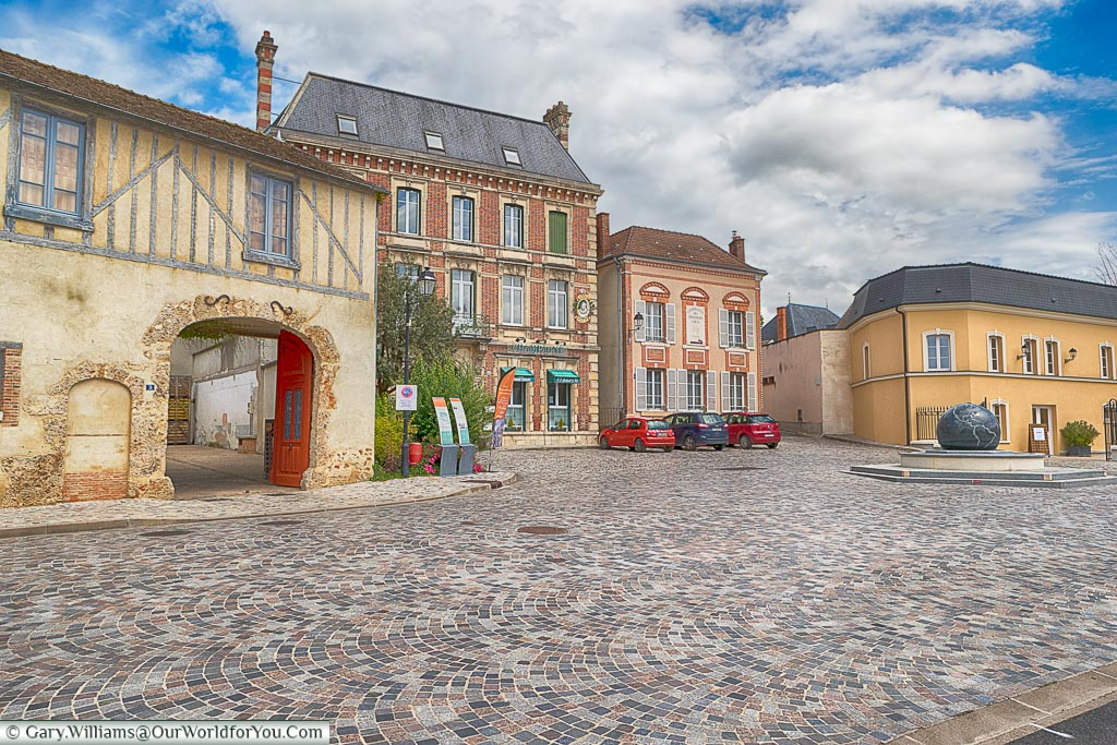 The village of Ay in the Champagne region of France
