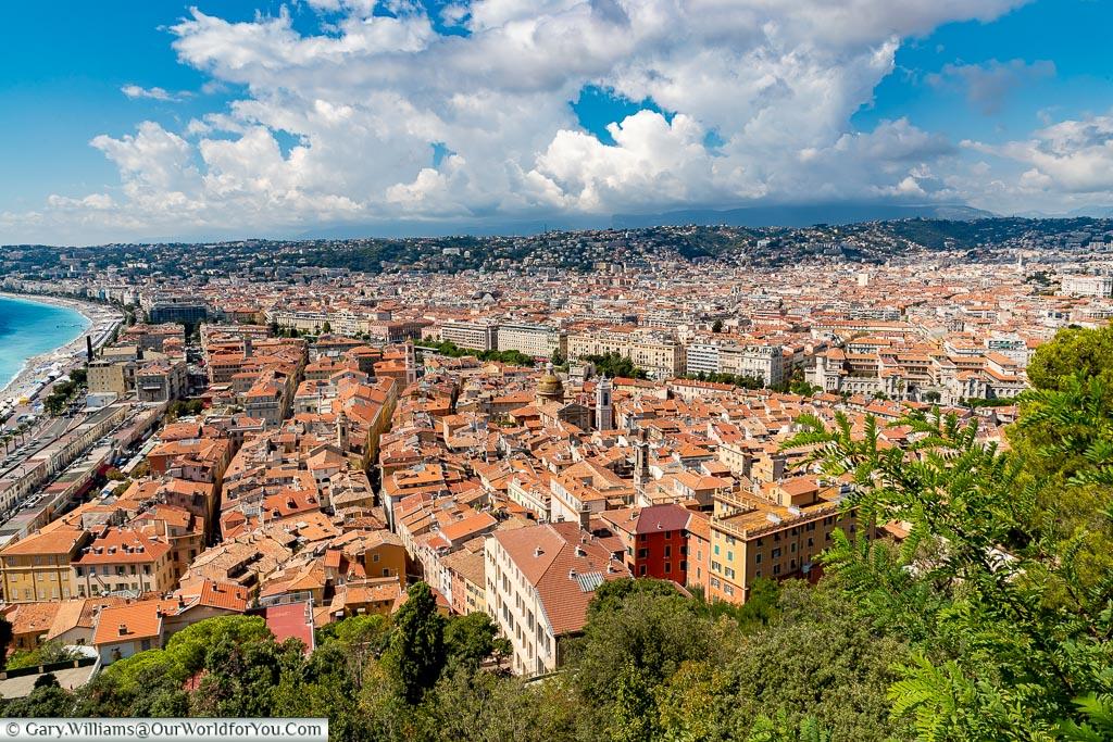 View across Nice, Nice, France