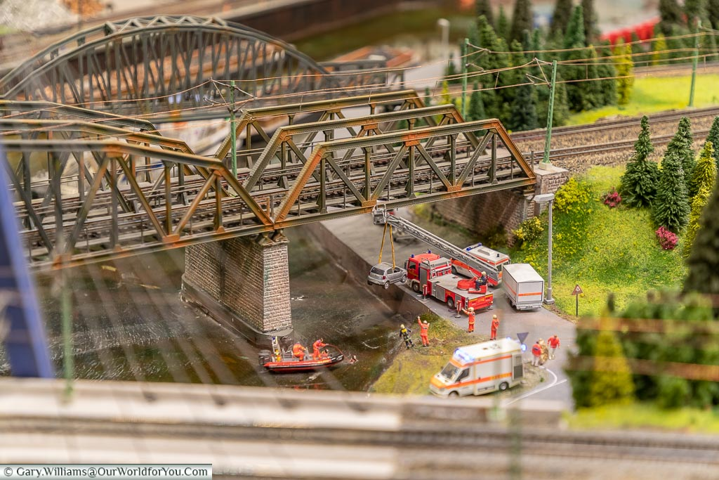 It's not just about the trains, Miniatur Wunderland, Hamburg, Germany