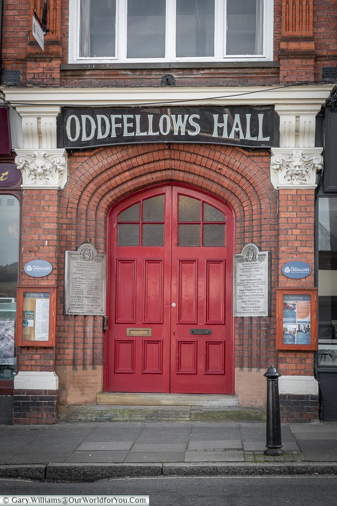 Oddfellows Hall, Dorking, Surrey, England, UK