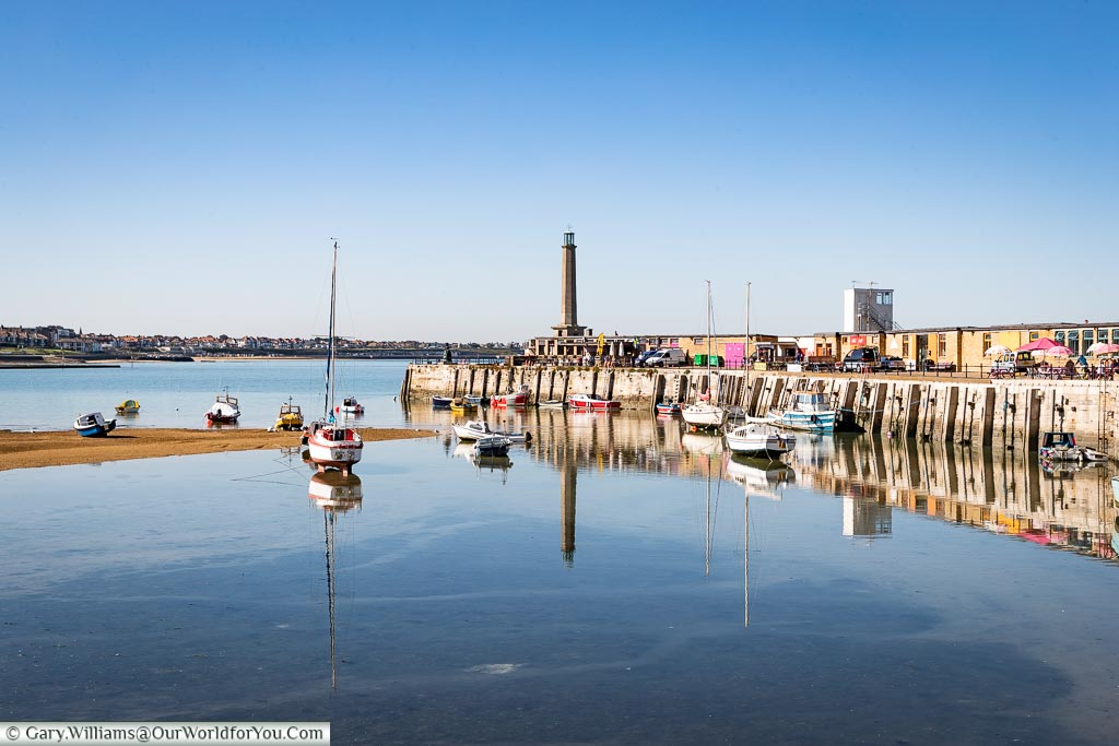 The little harbour in Margate, Kent