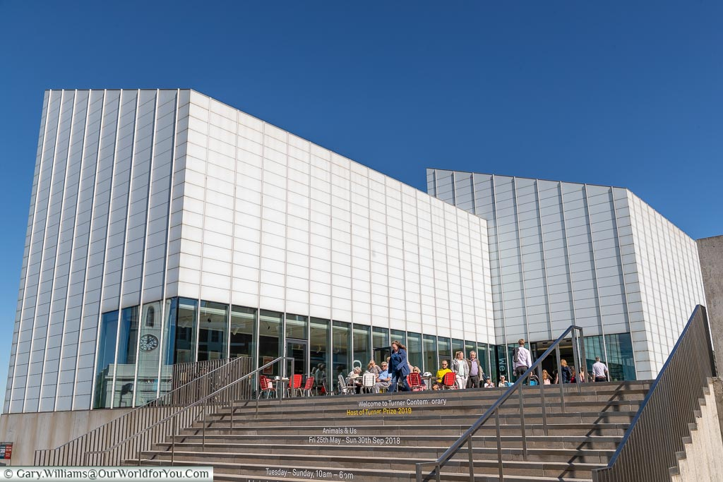 Turner Contemporary Gallery, Margate, Kent, England, UK