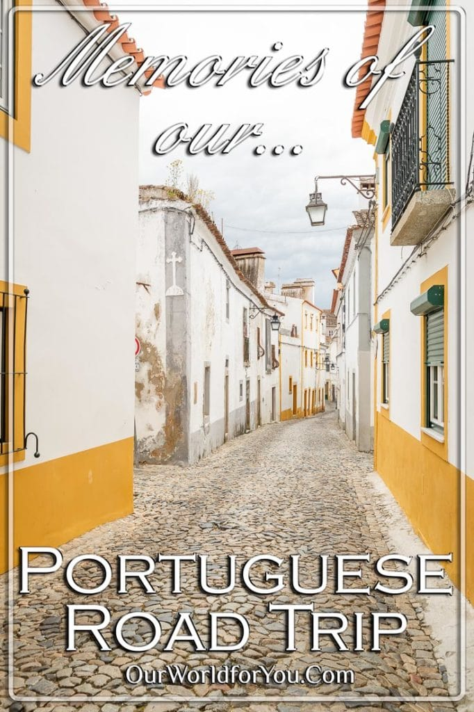 Memories of our Portuguese Road Trip pin