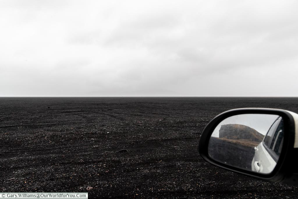 Remember to look back, Driving in Iceland