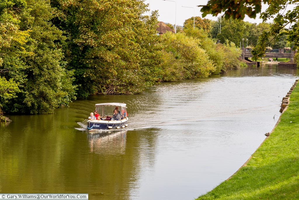 The Military Canal, Hythe, Kent, England, UK