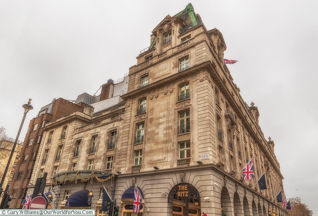 The Ritz Hotel, St James's, City of Westminster, London, England, UK