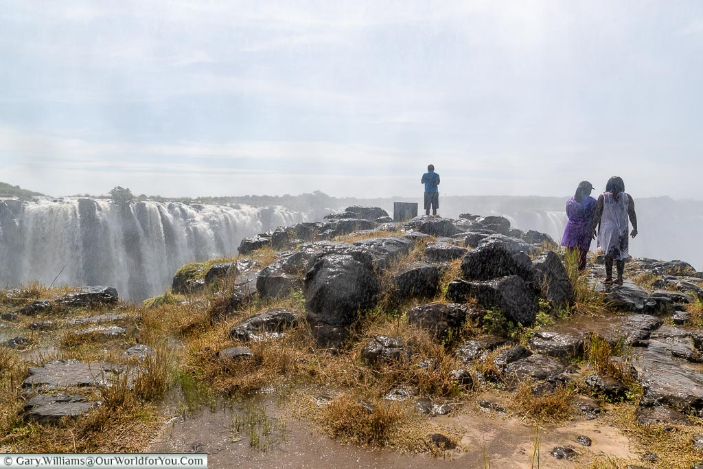 One of the many viewpoints, Zimbabwe, Africa