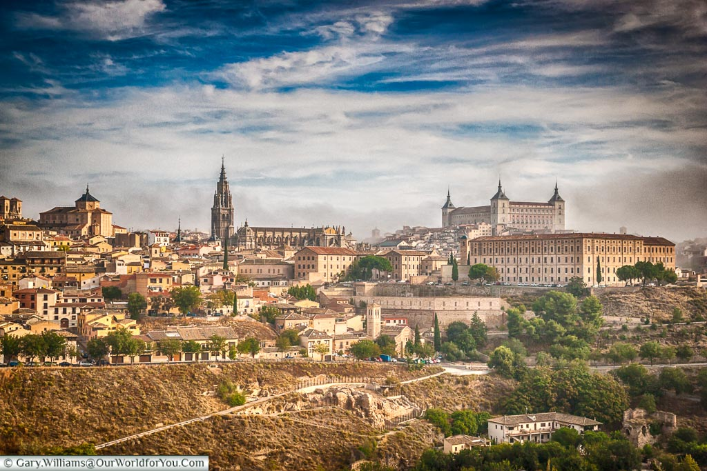 A view over the city of Toledo