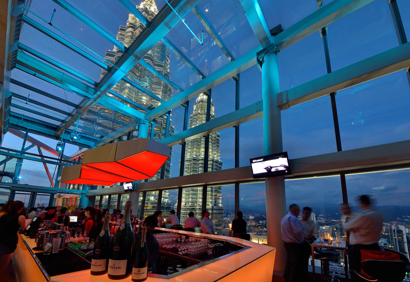The Highest Rooftop Bar in Malaysia