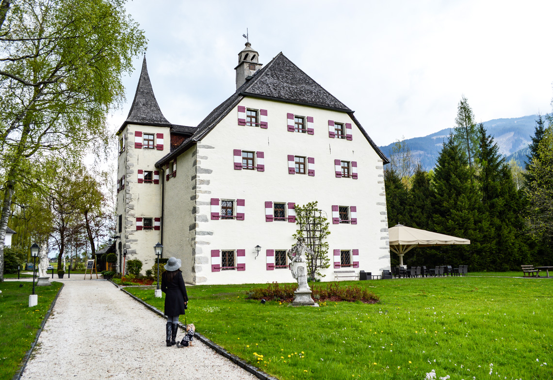 Checking in: Schloss Prielau Austria