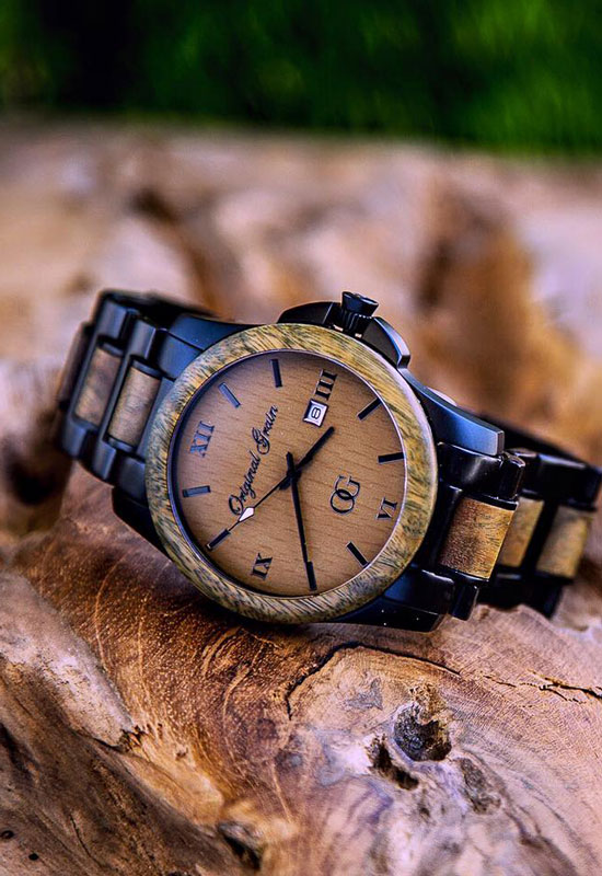 espresso wood wooden watch whiskey pin barrel steel watches barrels