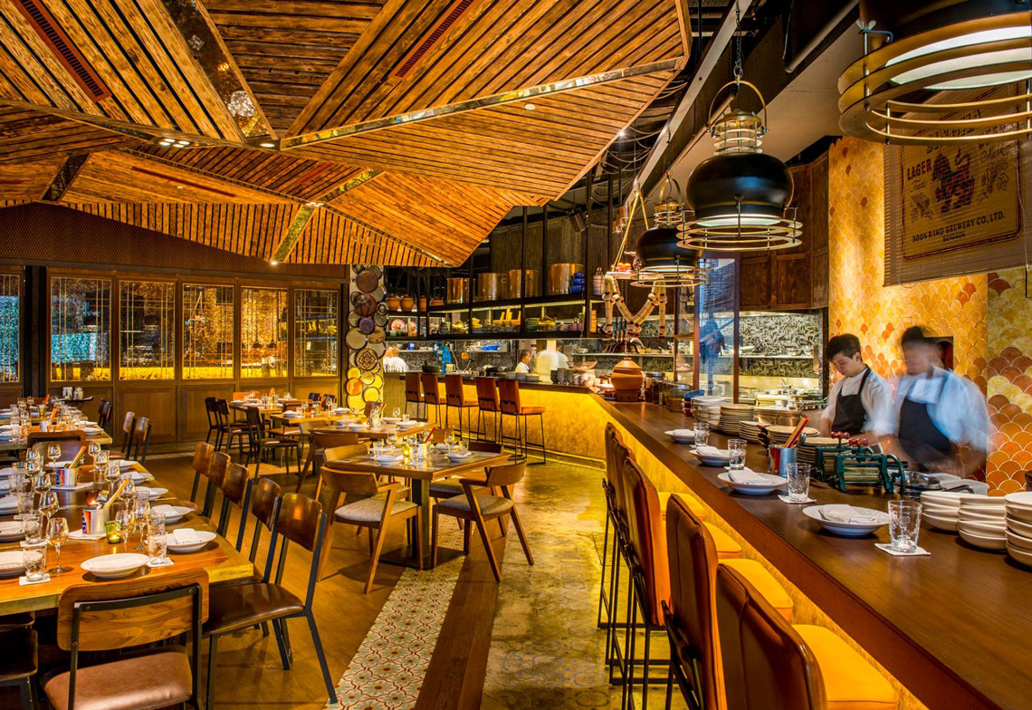 Thai Street Food at Long Chim by Celebrity Chef David Thompson