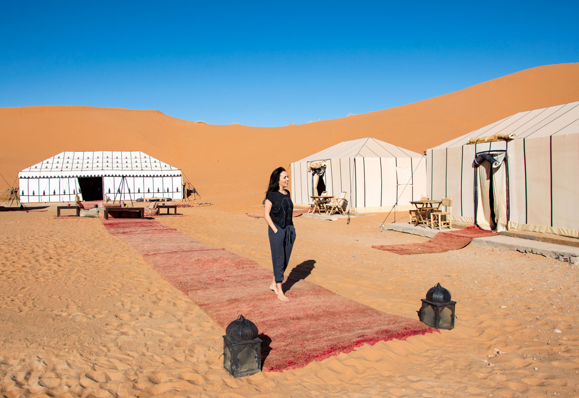 Checking in: Merzouga Luxury Desert Camp Morocco