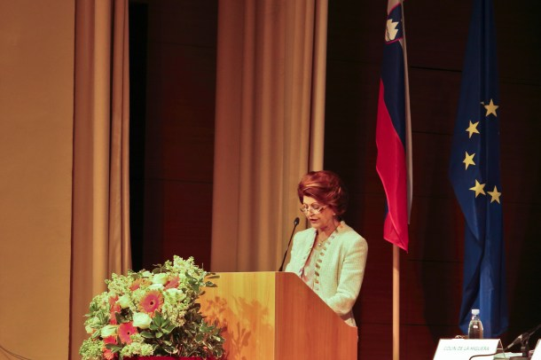 Androulla Vassiliou, European Commissioner for Education, Culture, Multilingualism and Youth