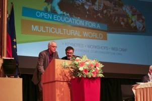 Fred Mlder, UNESCO OER Chair, Colin de la Higuera, K4A trustee
