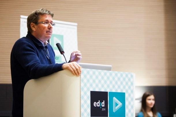 Mitja Jermol, EDID 2014 conference, Laško, Slovenia