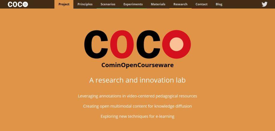 COCO - CominOpenCourseware