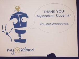MyMachine Slovenia 1st Exibition