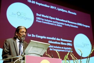 Mr Indrajit Banerjee, Director, Knowledge Societies Division, UNESCO - 2nd World Open Educational Resources (OER) Congress