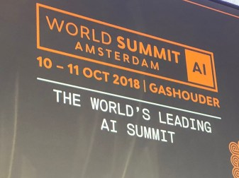 World Summit AI in Amsterdam, 2018