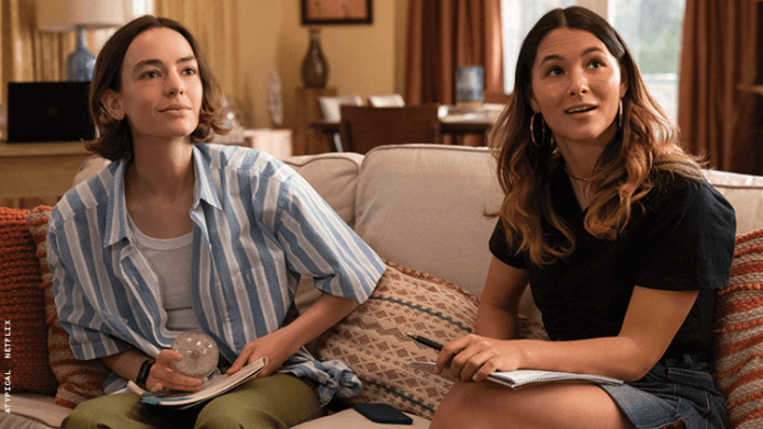 Casey & Izzie Face Relationship Drama in 'Atypical' Season 4 Trailer