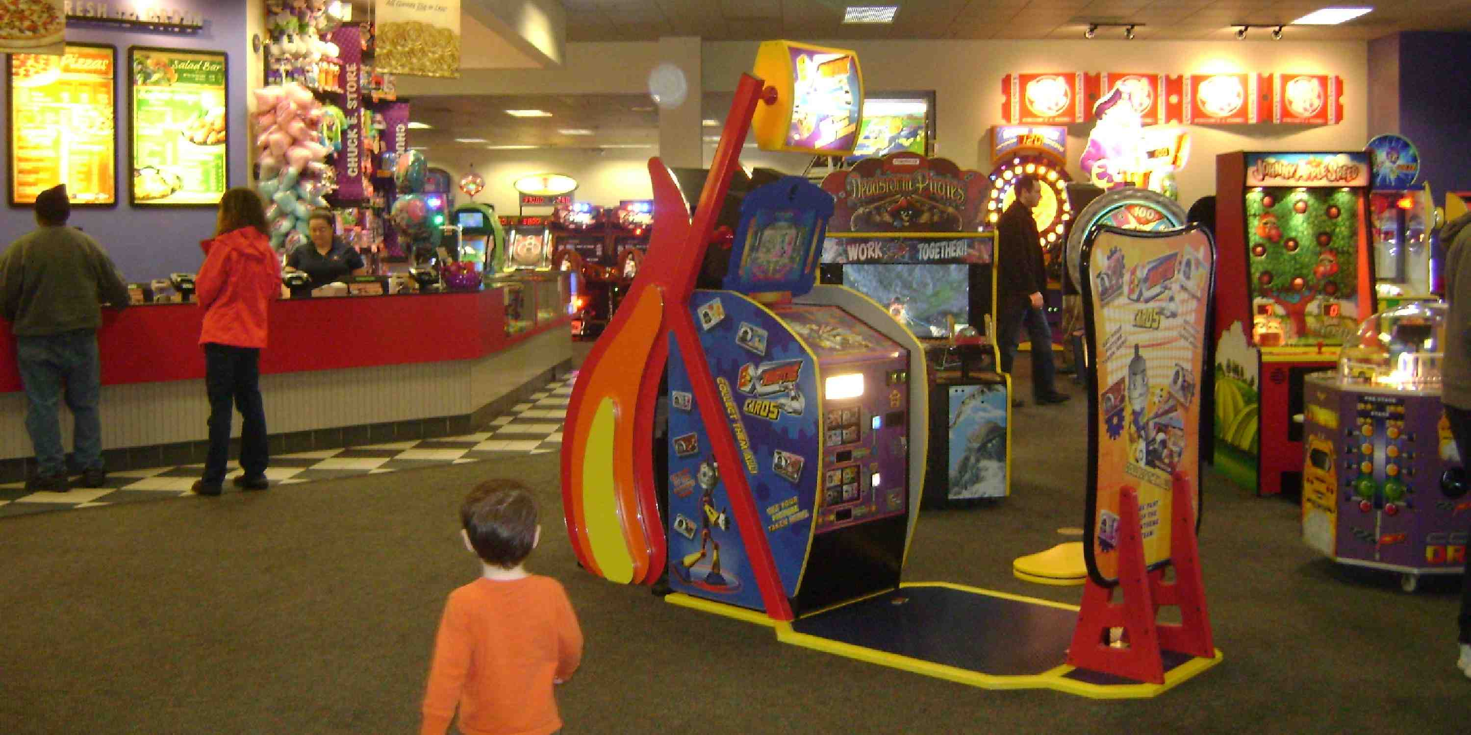 chuck e cheese s in manchester fun for kids and their grown ups