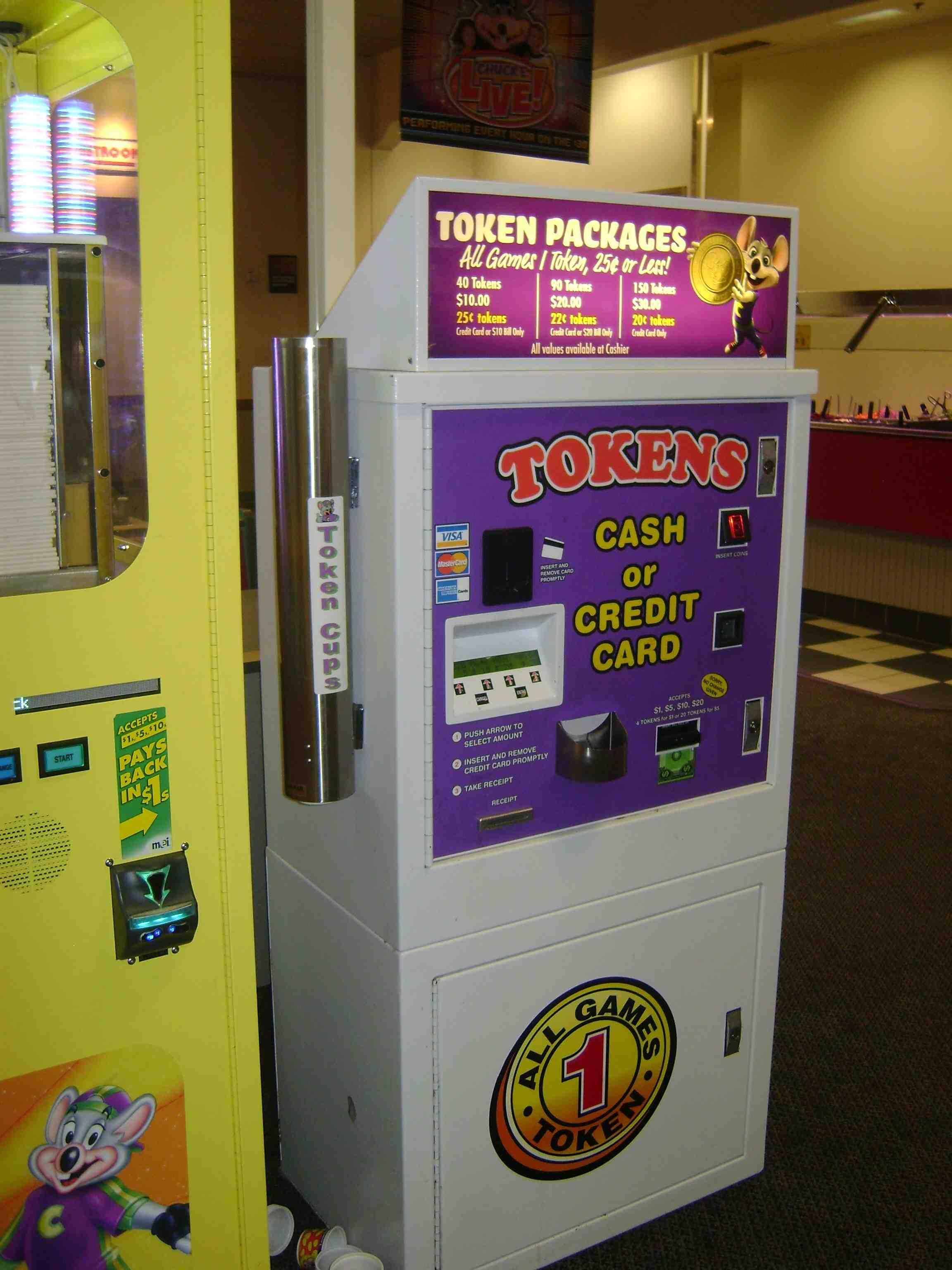 chuck e cheese token deals