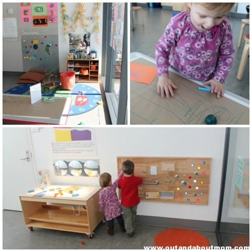 art studio toddler