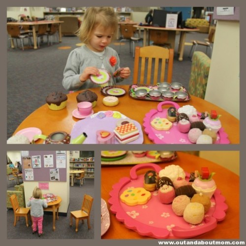 Avon Library_Out and About Mom_Tea Party