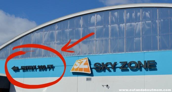 Sky Zone 200 Feet