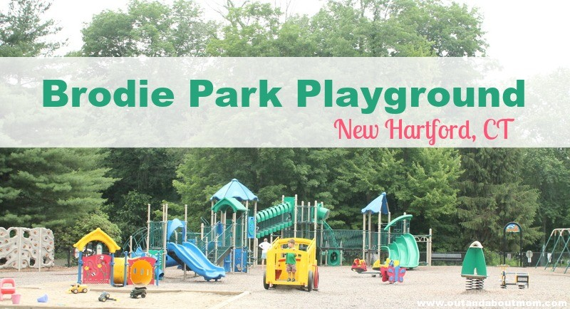 Brodie Park Playground_Out and About Mom_Things to do with kids in Connecticut, New Hartford_Header