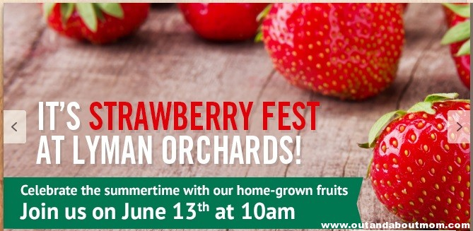 Lyman Orchards_Pick Your Own Calendar_Out and About Mom_Strawberry Fest
