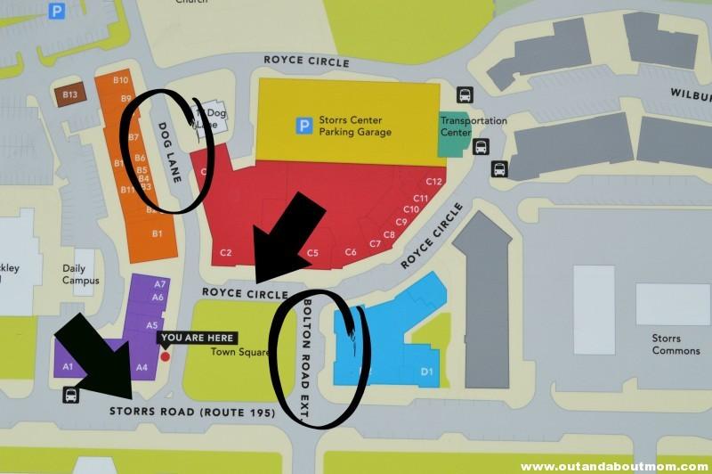 UConn Map 1