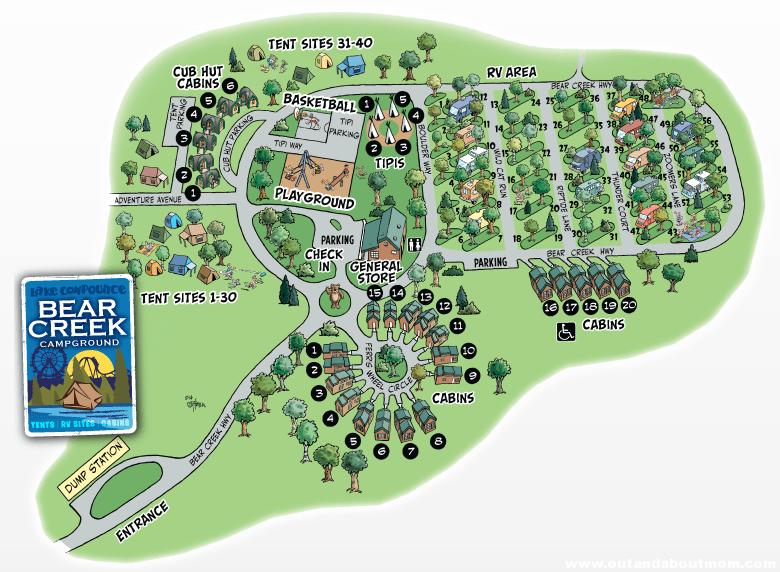 Bear Creek Map 2