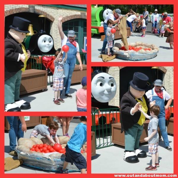 Thomas Land Show Time Collage