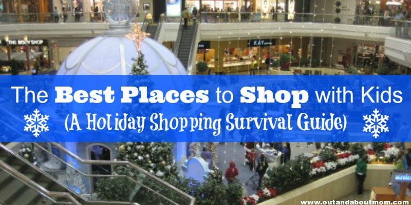 The Best Holiday Shopping Destinations with Kids in (and around) CT