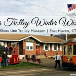 Trolleying in a Winter Wonderland at The Shore Line Trolley Museum