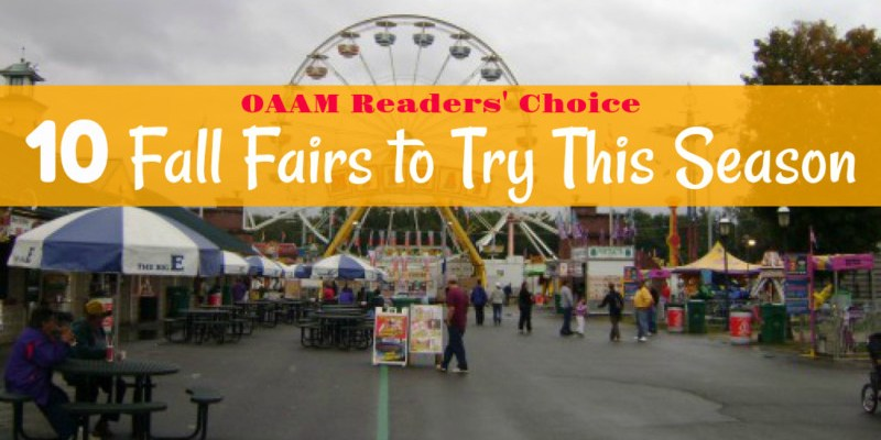 OAAM Readers' Choice: 10 Fall Fairs to Try This Season