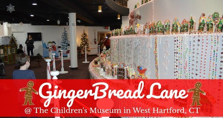 GingerBread Lane at The Children's Museum in West Hartford